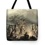 Caravan Of Armenian Merchants Tote Bag