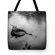 Carcass In The River Tote Bag