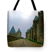 Carcassonne Walls Tote Bag by France  Art