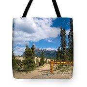 Carcross Desert Sand Dunes Yukon Territory Canada Tote Bag