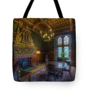 Cardiff Castle Apartment Dining Room Tote Bag
