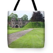 Cardiff Castle Wall 8383 Tote Bag