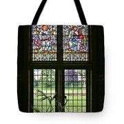 Cardiff Castle Window 8355 Tote Bag