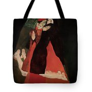 Cardinal And Nun Tote Bag