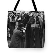 Cardinal Bourne's Hand Kissed Tote Bag