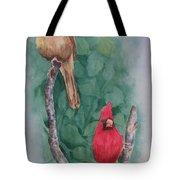 Cardinal Companions Tote Bag