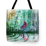 Cardinal - Featured In Comfortable Art-wildlife-and Nature Wildlife Groups Tote Bag
