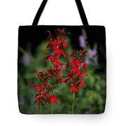 Cardinal Flowers Tote Bag