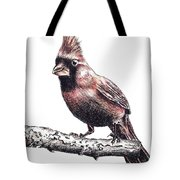 Cardinal Male Tote Bag