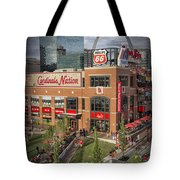 Cardinals Nation Ballpark Village Dsc06176 Tote Bag