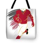 Cardinals Shadow Player2 Tote Bag