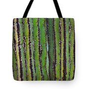 Cardon Cactus Texture. Tote Bag