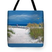 Carefree Days By The Sea Tote Bag
