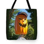 Carefree Scarecrow Tote Bag