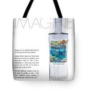 Carey Chen Big Chill Vodka By Jimmy Johnson Tote Bag