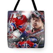 Carey Price Tote Bag