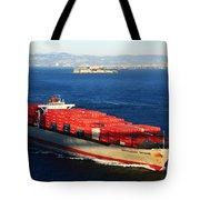 San Francisco Bay Tote Bag by Aidan Moran
