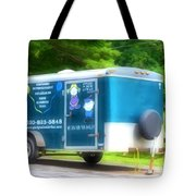 Cargo Trailer Tote Bag