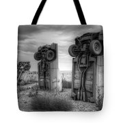 Carhenge Automobile Art 3 Tote Bag