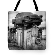 Carhenge Automobile Art 4 Tote Bag