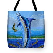 Caribbean Blue Off0041 Tote Bag