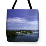 Caribbean Breeze Five Tote Bag