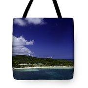 Caribbean Breeze Nine Tote Bag