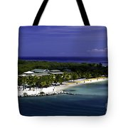 Caribbean Breeze Ten Tote Bag