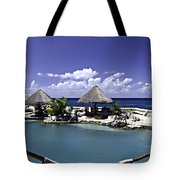 Caribbean Breeze Three Tote Bag