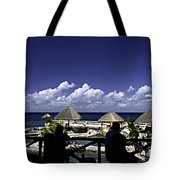 Caribbean Breeze Two Tote Bag
