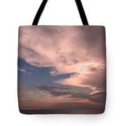 Caribbean Clouds Tote Bag