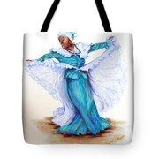 Caribbean Folk Dancer Tote Bag