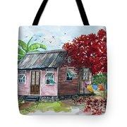 Caribbean House Tote Bag