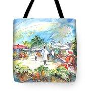 Caribbean Market Tote Bag