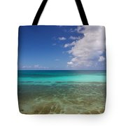 Caribbean Ocean Panorama Tote Bag