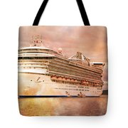 Caribbean Princess In A Different Light Tote Bag by Betsy Knapp
