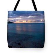 Caribbean Sunset Tote Bag