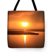 Caribbean Sunset Tote Bag
