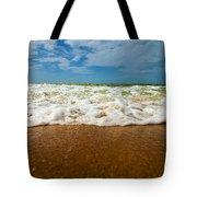 Caribbean Waves Tote Bag