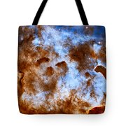 Carina Nebula-dust Pillars Tote Bag