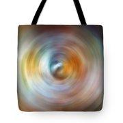 Carina Nebula Spin Art Tote Bag