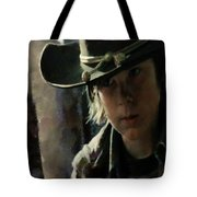 Carl Grimes  Tote Bag