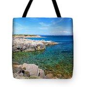 Carloforte Coastline Tote Bag