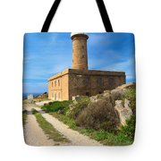 Carloforte Lighthouse Tote Bag