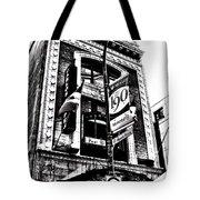 Carlos And Pepe's Montreal Mexican Bar Bw Tote Bag