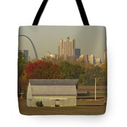 Carls Barn And The Arch Tote Bag