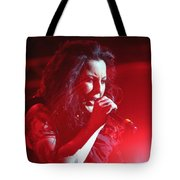 Carly And The Concert Lighting Tote Bag