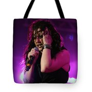 Carly In Concert Tote Bag