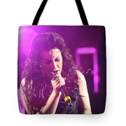 Carly On Stage Tote Bag