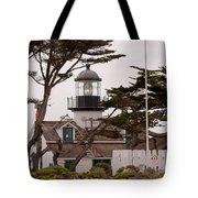 Carmel Light Station Tote Bag